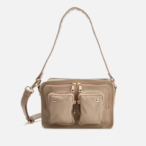 Núnoo Women's Ellie Deluxe Shoulder Bag - Taupe