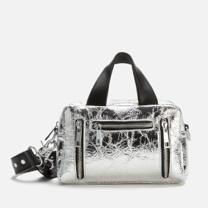 Núnoo Women's Mini Donna Cool Metallic Bag - Silver