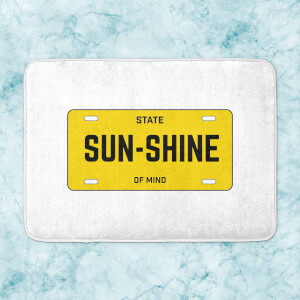 Sunshine State Of Mind Bath Mat