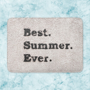 Best Summer Ever. Bath Mat