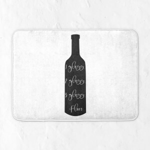 1 Glass, 2 Glass, 3 Glass, Floor. Bath Mat