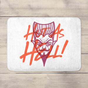 Hot As Hell Bath Mat
