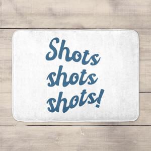 Shots Shots Shots! Bath Mat