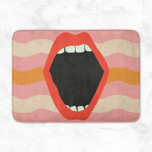 Scream Bath Mat