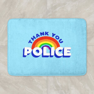 Thank You Police Bath Mat