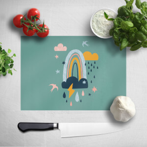 Rainbow Weather Chopping Board