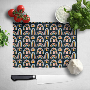 Rainbow Moody Chopping Board