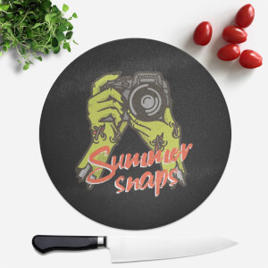 Summer Snaps Round Chopping Board