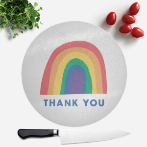 Thank You Round Chopping Board
