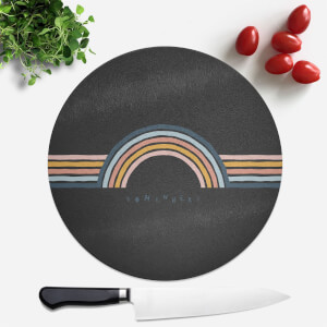 Somewhere Round Chopping Board