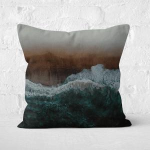 Moody Ocean Square Cushion