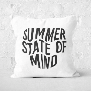 Summer State Of Mind Square Cushion