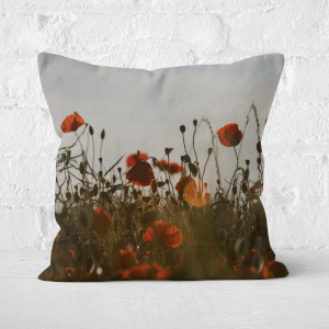 Summer Flowers Square Cushion