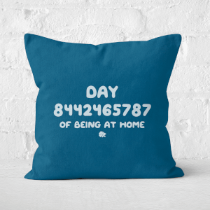 Day 8442465787 Of Quarantine Square Cushion