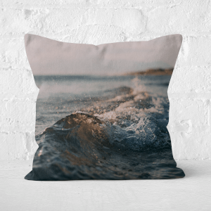 Crashing Wave Square Cushion