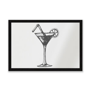 Beach Cocktail Entrance Mat