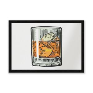Whisky Entrance Mat