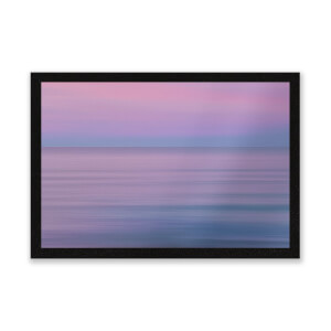 Sunset Purple Tones Entrance Mat