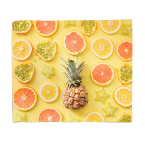 Vitamin C Fleece Blanket