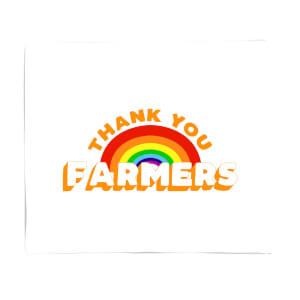 Thank You Farmers Fleece Blanket