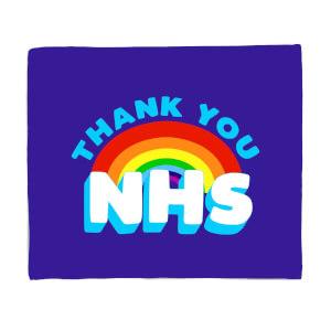 Thank You NHS Fleece Blanket