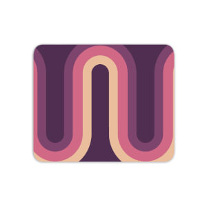 Purple Groove Mouse Mat