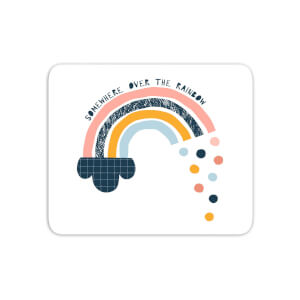 Somewhere Over The Rainbow Mouse Mat