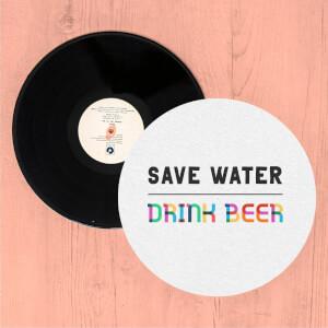 Save Water, Drink Beer Slip Mat