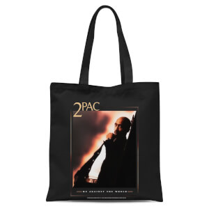 Tupac Me Against The World Tote Bag - Black