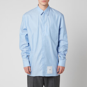 Maison Margiela Men's Oxford Shirt - Light Blue