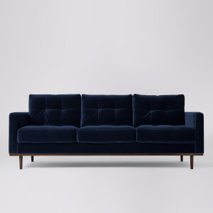 Swoon Berlin Velvet 3 Seater Sofa