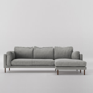 Swoon Munich House Weave Corner Sofa - Right Hand Side