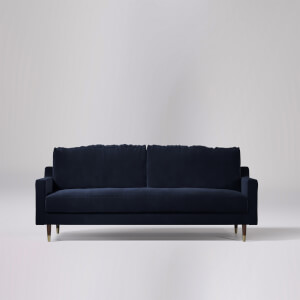 Swoon Reiti Velvet 3 Seater Sofa