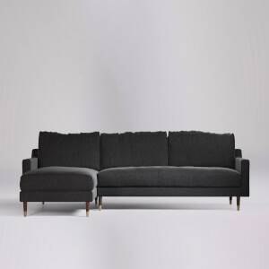Swoon Reiti Smart Wool Corner Sofa - Left Hand Side