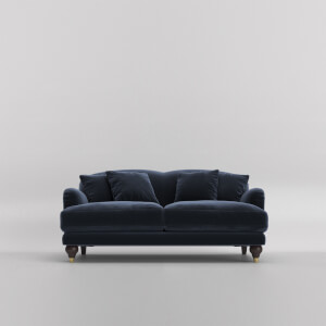 Swoon Holton Velvet 2 Seater Sofa