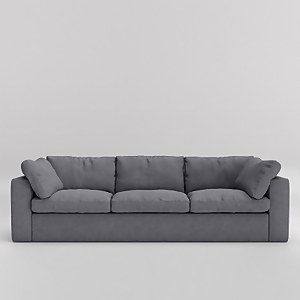 Swoon Seattle Smart Wool 3 Seater Sofa