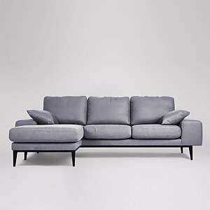 Swoon Tulum Smart Wool Corner Sofa - Left Hand Side