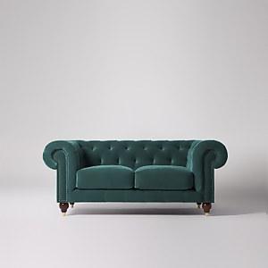 Swoon Winston Velvet 2 Seater Sofa
