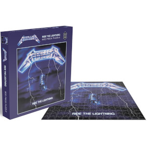 Metallica Ride the Lightning (500 Piece Jigsaw Puzzle)