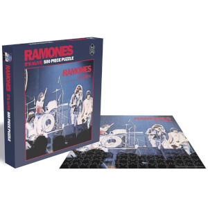 Ramones It's Alive (500 Piece Jigsaw Puzzle)