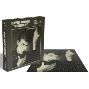David Bowie Heroes (500 Piece Jigsaw Puzzle)