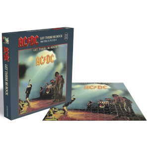AC/DC Let There Be Rock (500 Piece Jigsaw Puzzle)