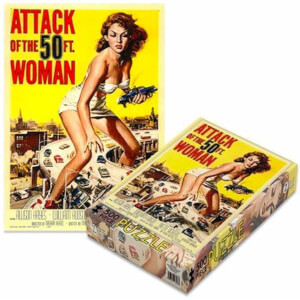 Plan 9 - Attack of the 50 Foot Woman Attack of the 50 Foot Woman (500 Piece Jigsaw Puzzle)