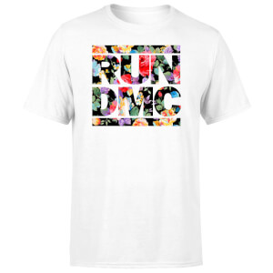 Flowery Run Dmc Unisex T-Shirt - Wit