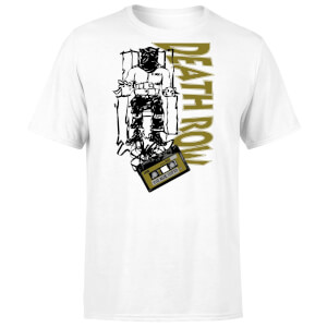 T-shirt Death Row Records Gold Tape - Blanc - Unisexe