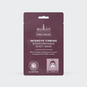 Sukin Purely Ageless Intensive Firming Sheet Mask Sachet 25ml