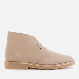 Clarks Women's Suede 2 Desert Boots - Sand