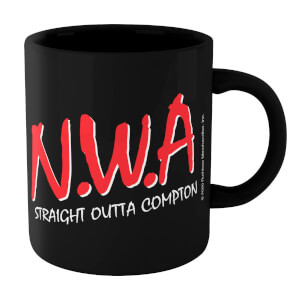 NWA Straight Outta Compton Mug - Black