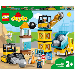 LEGO DUPLO Wrecking Ball Demolition Construction Set (10932)