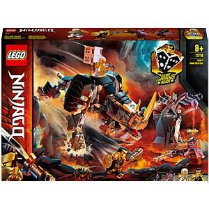 LEGO® NINJAGO®: Criatura Mino de Zane (71719)